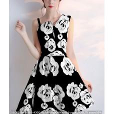 White roses fabrics
